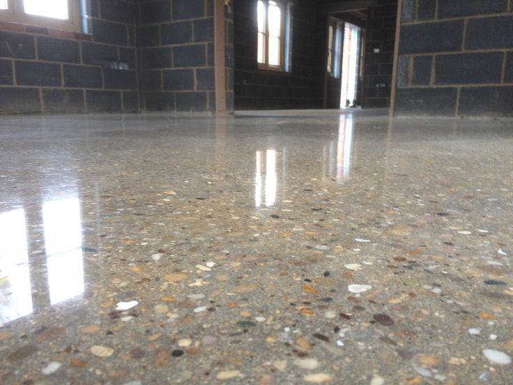 Carrcrete InfnityFloor Gloss Stone polished concrete floor