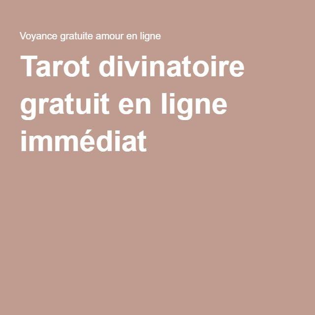 Tarot divinatoire gratuit en ligne immédiat