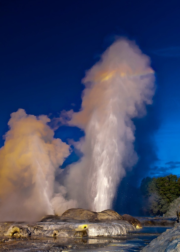 New Zealand-Rotorua-It's a lovely, intriguing city that has bubbling mud geysers, the Maori cultural center (whose people taught us the Haka war chant) and the air reeks of sulfur. Wouldn't miss visiting this place...New Zealand is the most beautiful, diverse country on earth.