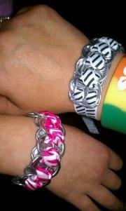 my soda tab bracelets! :)