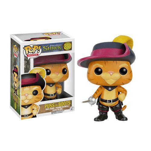 Figurine POP Shrek le Chat Potté