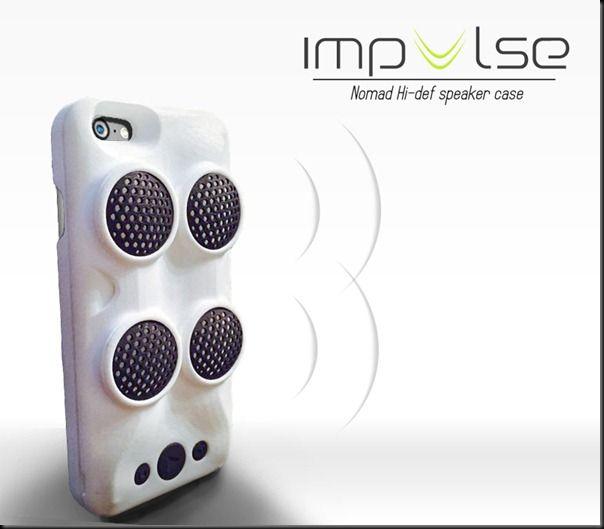 Avec Impulse et ses deux paires de haut-parleurs, vous pourrez disposer d'un son de qualité pour écouter de la musique, jouer à des jeux ou encore regarder un film en utilisant la petite béquille.