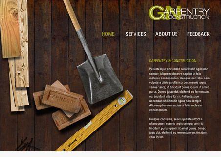 carpentry websites - Google Search   design   Pinterest