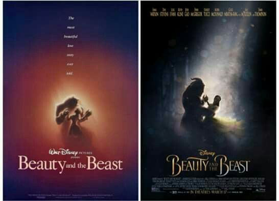 Beauty and the Beast then and now! <--- OH MY WORD. I LOVE THIS SO MUCH. <3