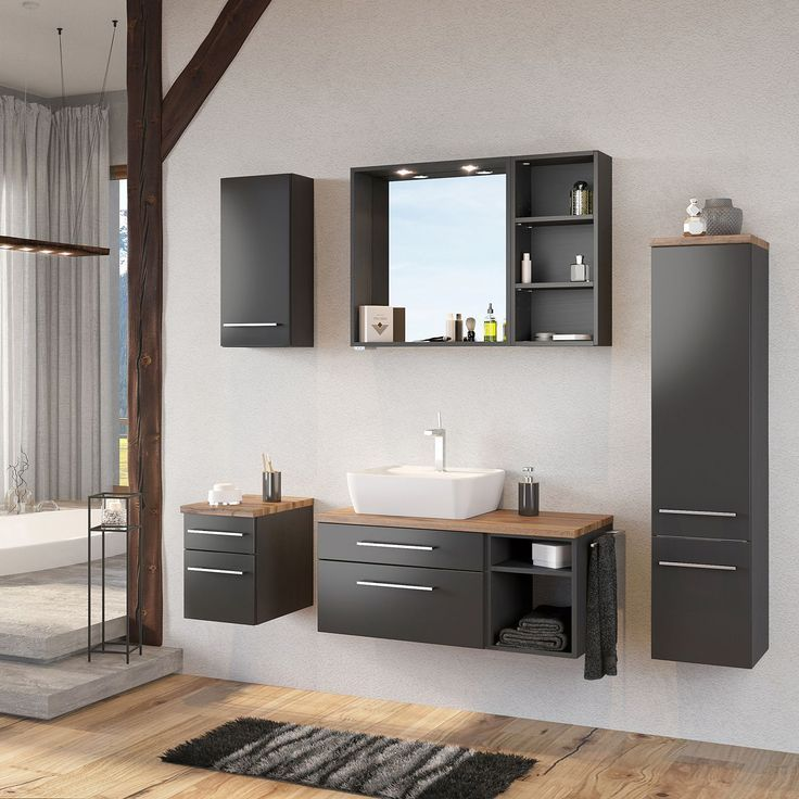 Badezimmer Set Davos Iii 3 Teile Products Badezimmerset Davos Iii Products Teile Washbasin Design Vanity Cabinet Double Vanity Bathroom