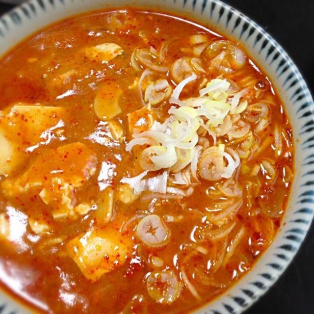 スープはお手製。美味しくできた - 93件のもぐもぐ - お家で中本の蒙古タンメン by mpin307