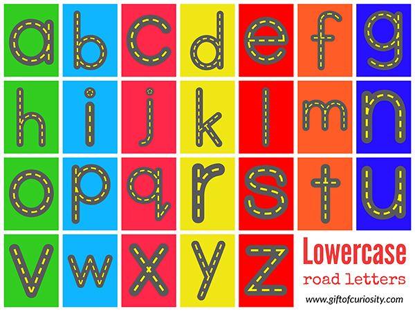 Free Printable Colored Alphabet Letters | www.pixshark.com ...