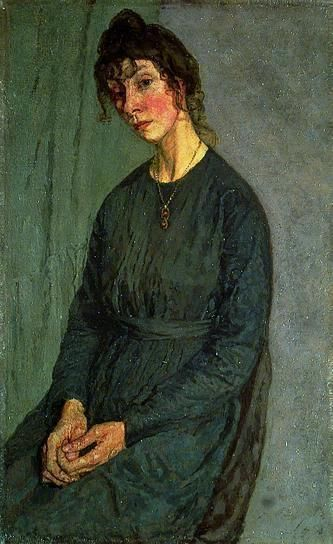 Gwen John - portrait of Chloe Boughton-Leigh Gwendalin Mary John was Welsh artist who worked in France for most of her career. She is noted for her still life and for her portrait especially of anonymous female sitter. John Was an artist's model for ( later the lover of ) sculptor Auguste Rodin.