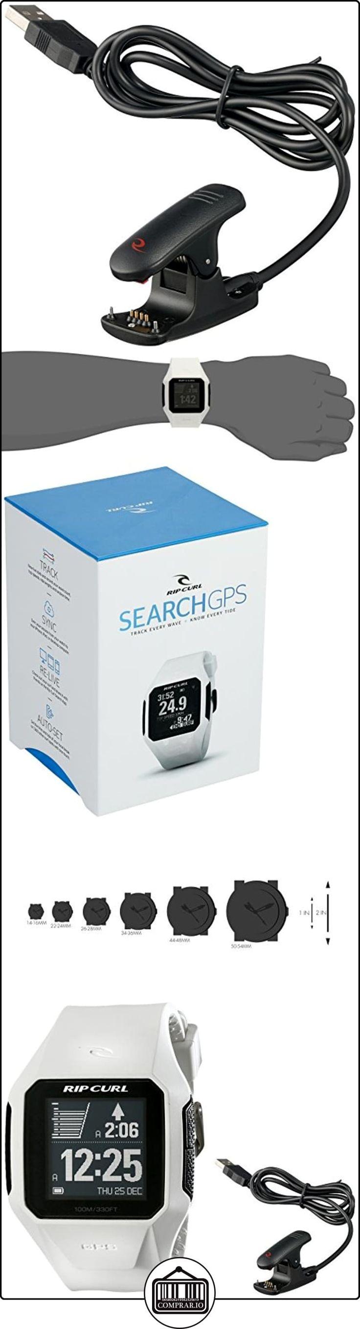 Rip Curl Unisex A1111WHI pantalla Digital cuarzo blanco reloj  ✿ Relojes para hombre - (Lujo) ✿