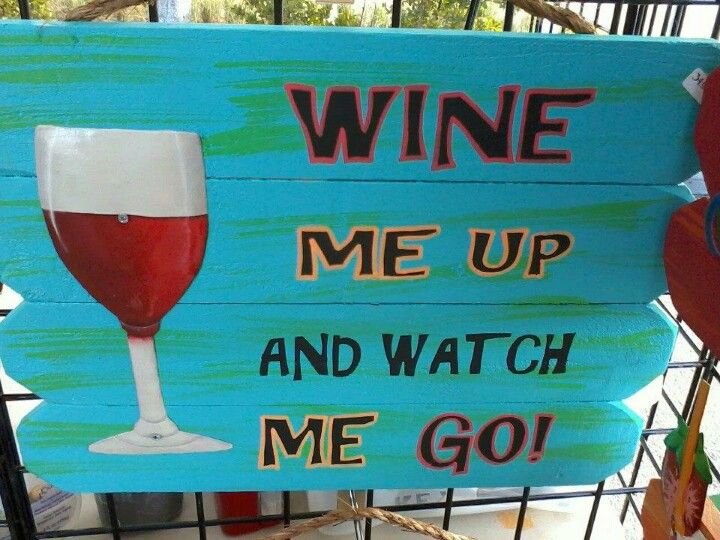 Cute sign for the patio