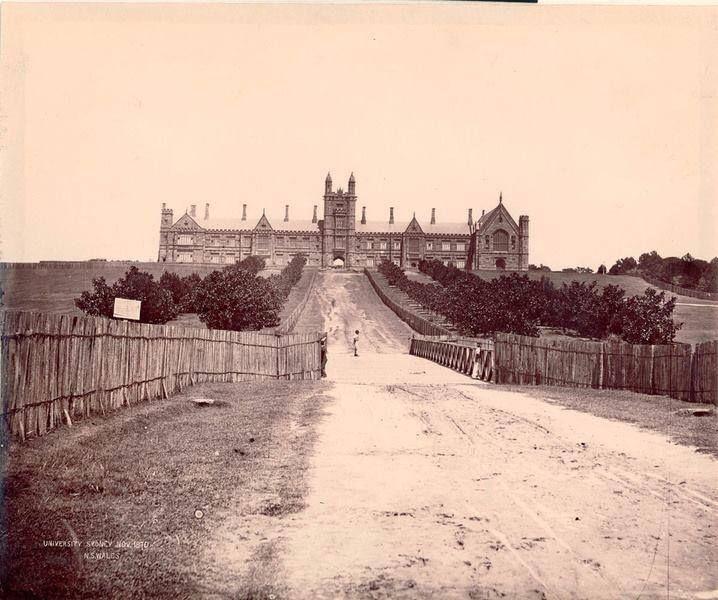 Sydney University, 1870