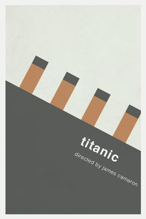 Titanic - Minimalist Poster Poster was better then the musical...