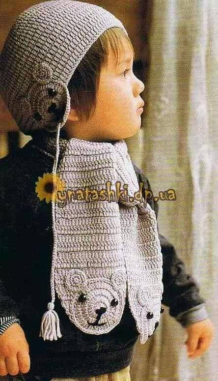 Mejores 56 imágenes de Children bufandas en Pinterest | Patrones de ...