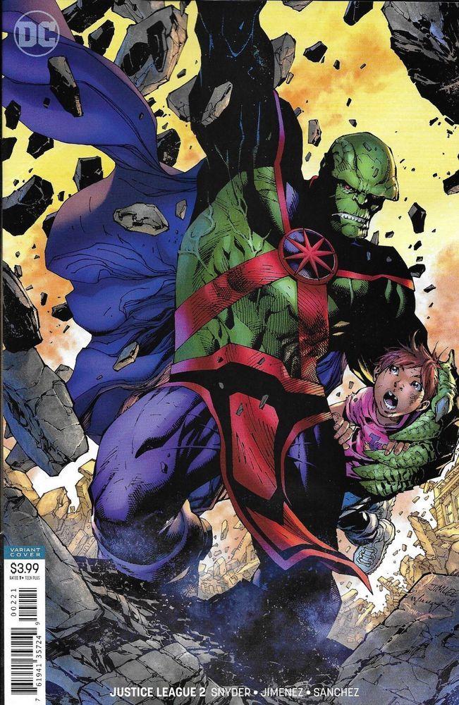NM 2020 Justice League Dark #18 B Cover Variant