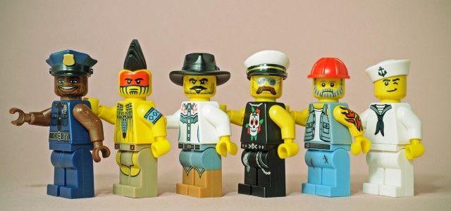 Legographie – Popkultur in Lego