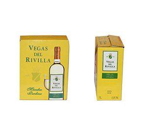 Bag In Box Vin blanc Vegas del Rivilla – Extremadure (Espagne) – cubi 5L, 11,5%