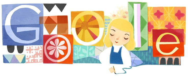 Mary Blair's 100th Birthday [100 лет со дня рождения Мэри Блэр] /This doodle was shown: 21.10.2011 /This is global doodle. It was shown for all countries