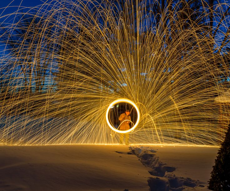 Create Fascinating Images With A Little Steel Wool And A Single Lens Reflex  Camera