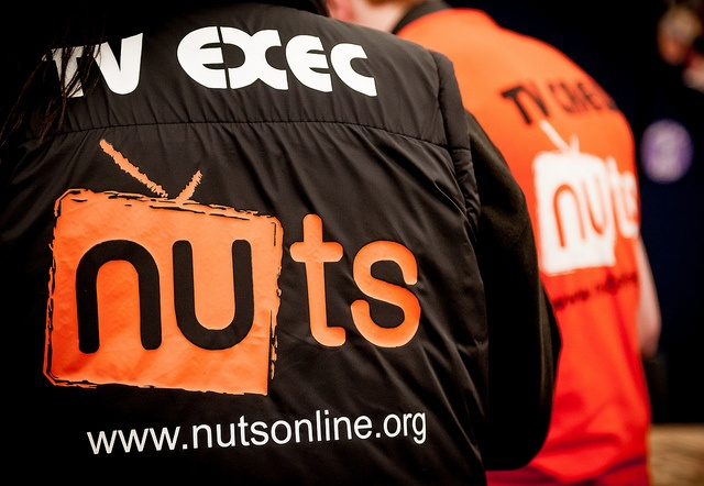All of our student media groups were out in full force at the Freshers' Fair (NUTS is the student-run TV Station)