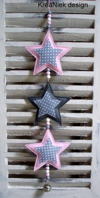 Guirnaldas de estrellas.                                                                                                                                                     Más