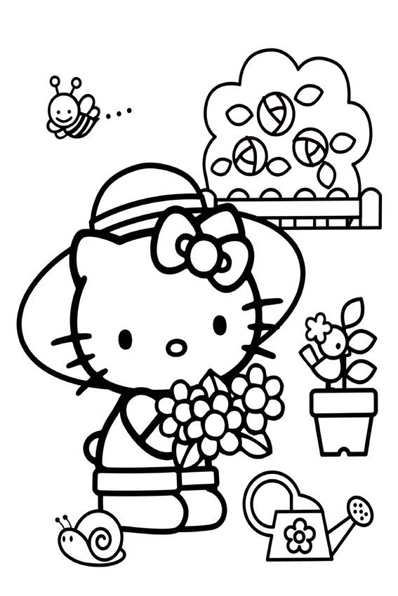 Crayola giant coloring pages hello kitty ~ 27 best Hello Kitty Circus images on Pinterest   Hello ...