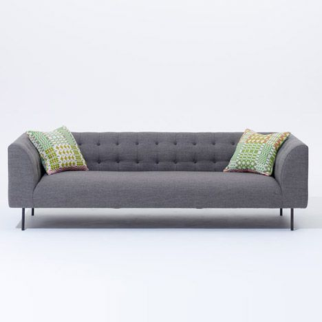 Lansdowne sofa by Terence Woodgate - SCP at London Design Festival