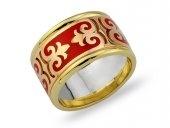 red wedding ring