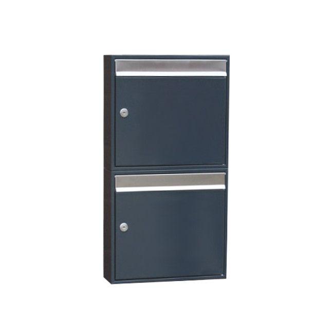 http://www.schmitt-smartes-wohnen.de/Eingangsbereich/Briefkaesten/Design-Doppel-Briefkasten-anthrazit-RAL7016
