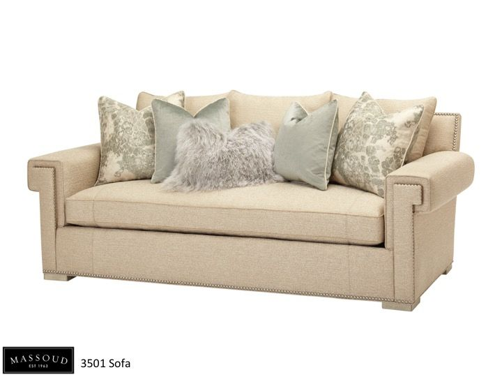 Massoudu0027s 3501 Sofa Offers A Clean, Neutral Look. It Features A Key Hole  Arm. Transitional ...