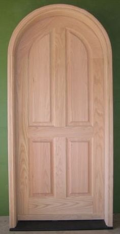 Arch Top Entry Door