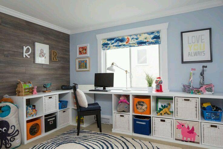 Como organizar y decorar habitaciones infantiles for Habitaciones de varones