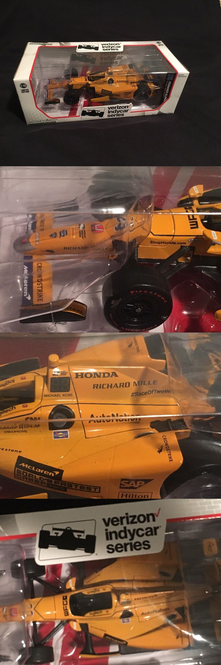 Other Diecast Racing Cars 45354: 1:18 Fernando Alonso Indy 500 Diecast Car F1 Greenlight Andretti Mclaren Honda -> BUY IT NOW ONLY: $150 on eBay!