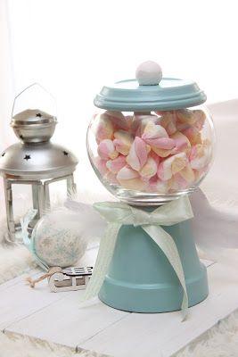 kriszkrea: Cukorka és édesség tartó gömb