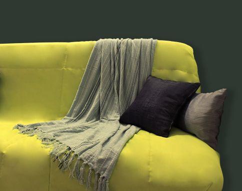 La housse pour BZ anis ALIX c'est LA touche colorée pour votre studio/appartement ! #vert #BZ #deco