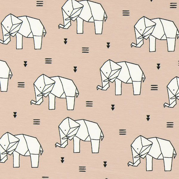 Single Jersey Origami Olifant 3