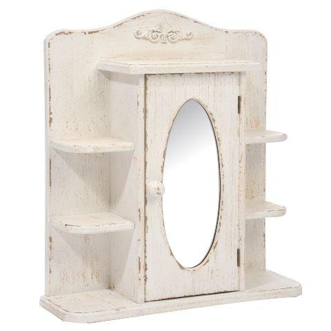 навесной шкафчик с зеркалом прованс - Поиск в Google