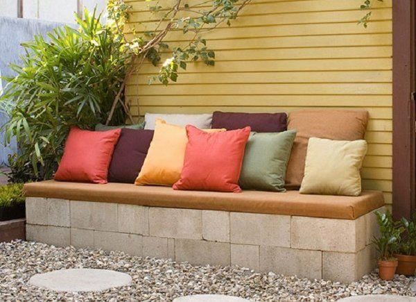 concrete block furniture ideas. cinder block furniture ideas diy bench garden concrete i