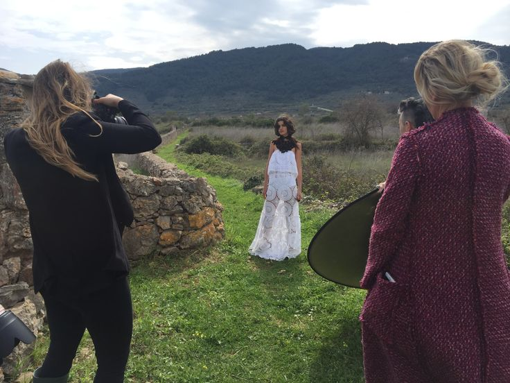 behind the scenes for 'the one who knows' campaign in Hvar, Croatia #nevenka #theonewhoknows #aw16 #croatia #campaign #lace #madeinmelbourne