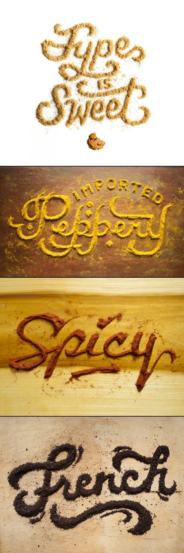 http://foodtypography.com/ Food #Typography