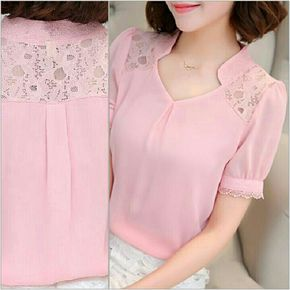 Cute pink lace tops ,need to try