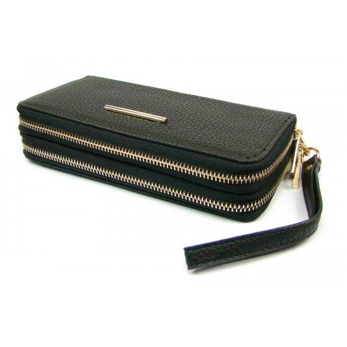 Dámská černá peněženka - peněženky AHAL