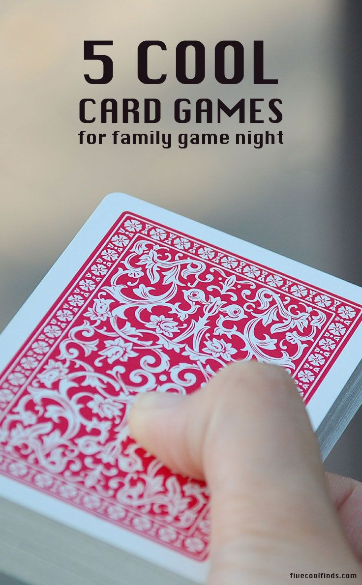These card games are perfect for family game nights but serious gamers will enjoy them too. SEE THEM HERE!