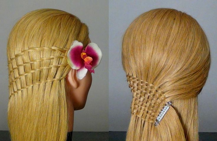 How to do waterfall twist hairstyles for long hair tutorial step by step instructions, How to, how to do, diy instructions, crafts, do it yourself, diy website, art project ideas
