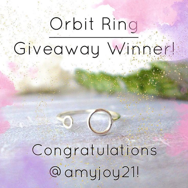 A winner has been drawn! Congratulations to @amyjoy21! I choose a winner by using a random number generator 1-17 and it generated the number 3 so the 3rd person to enter was @amyjoy21 and she met all the requirements for entering! . Thank you to everyone who entered it means a lot that so many of you want to support my business! I truly wish I could send you all a piece of jewelry but I hope a sincere thank you is good enough  Now what are you waiting for? It's Friday and you should treat…