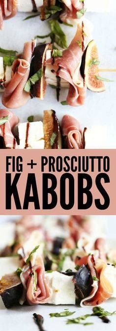 I love these Prosciu I love these Prosciutto  Fig Kabobs for a healthy and fun appetizer for any party! Throw them on top of a salad for an easy healthy lunch or side dish! thetoastedpinenut #glutenfree #lowcarb Recipe : http://ift.tt/1hGiZgA And @ItsNutella  http://ift.tt/2v8iUYW  I love these Prosciu I love these Prosciutto  Fig Kabobs for a...