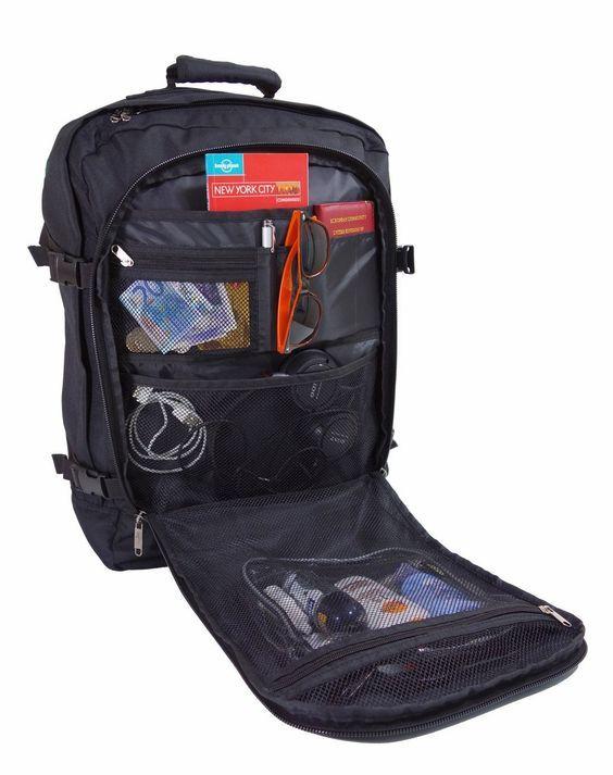 Cabin Max Rucksack, geeignet als Handgepäck im Flugzeug, großer Reiserucksack mit 44 Litern Fassungsvermögen!: Amazon.de: Koffer, Rucksäcke & Taschen