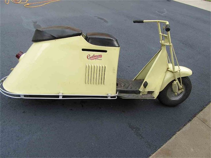 Image result for cushman motor scooter