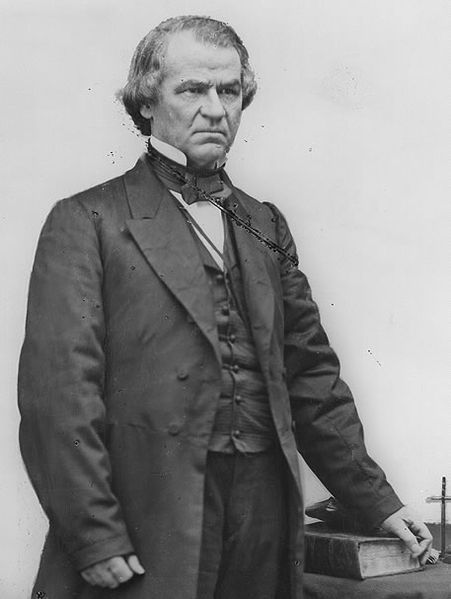The details of the impeachment of andrew johnson in the us