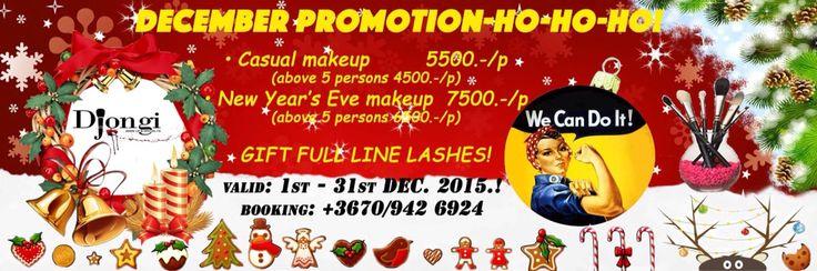 December promotion - English text #makeup #smink #sminkakcio #sminkes #djongi #djongimakeup #sminkmester #josmink #sminkakciodecember #makeuppro #makeupaddict #makeupartist #karancsony #decemberiakcio #sfx #specialeffectsartist #specialeffectsmakeup #budapest #bestoffer #szilveszterismink #alkalmismink
