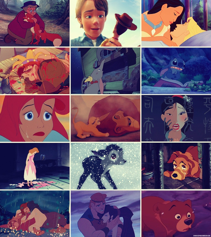 My saddest Disney moments